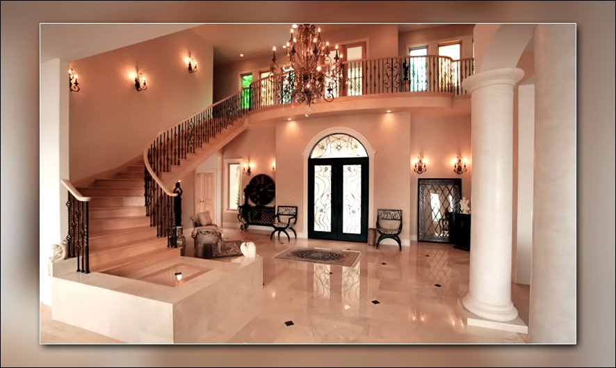 Дизайн большого дома